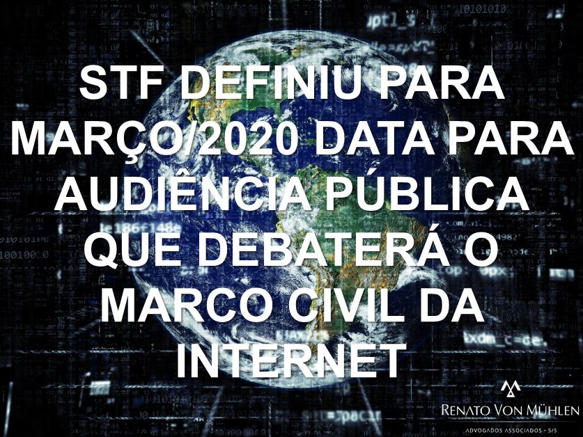 Audiência Pública sobre o MARCO CIVIL DA INTERNET já tem data para ocorrer