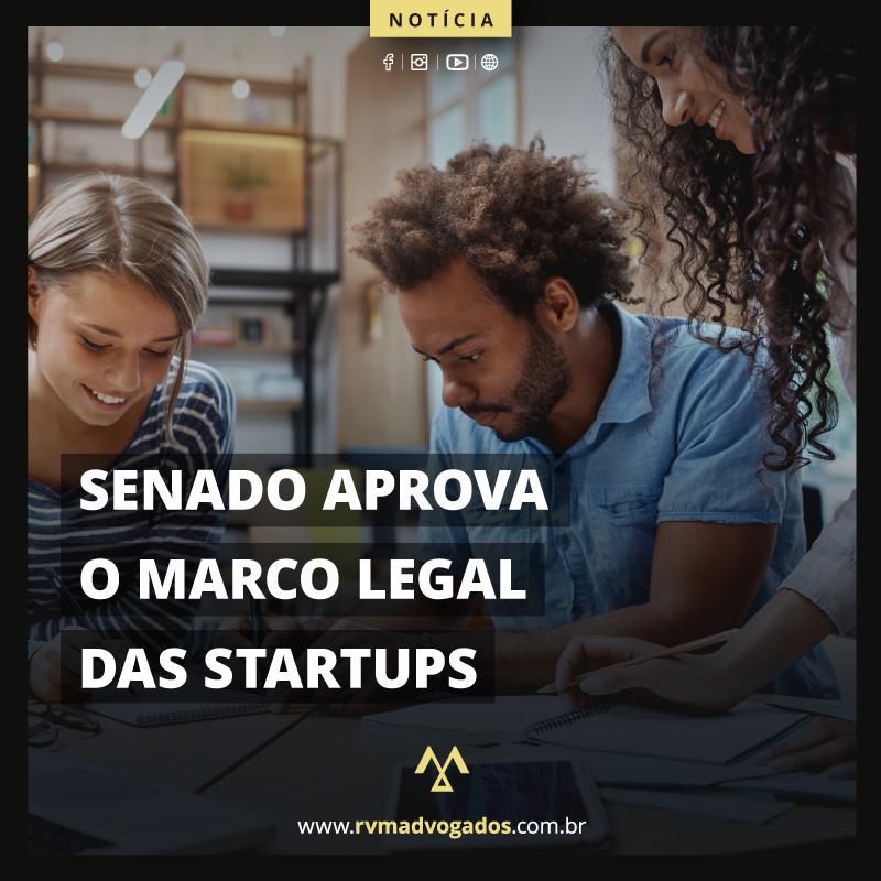 SENADO APROVA O MARCO LEGAL DAS STARTUPS